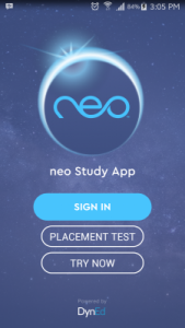 Tampilan Aplikasi Neo Study